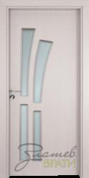 Интериорна врата Gama 205, цвят Перла