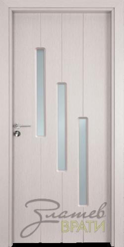 Интериорна врата Gama 206, цвят Перла