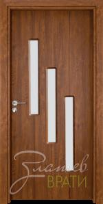 Интериорна врата Gama 206, цвят Златен дъб