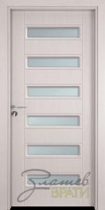 Интериорна врата Gama 207, цвят Перла