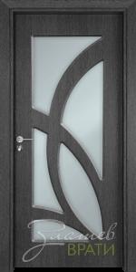 Интериорна врата Gama 208, цвят Сив кестен