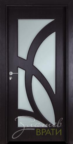 Интериорна врата 208, цвят Венге