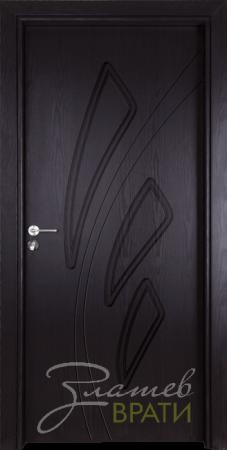 Интериорна врата Gama P 202 G цвят Венге