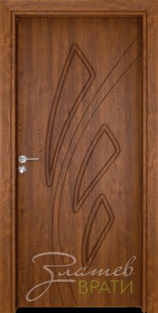 Интериорна врата Gama P 202 цвят Златен дъб