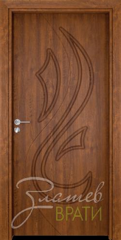 Интериорна врата Gama 203 p, цвят Златен дъб