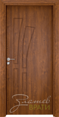 Интериорна врата Gama 205 p, цвят Златен дъб