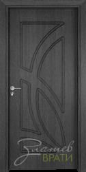 Интериорна врата Gama 208 p, цвят Сив кестен