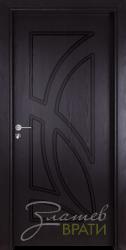 Интериорна врата Gama 208 p, цвят Венге