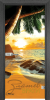 Print G 13 14 Beach sunset G