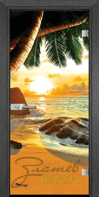 Print G 13 14 Beach sunset G