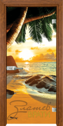 Print G 13 14 Beach sunset Z