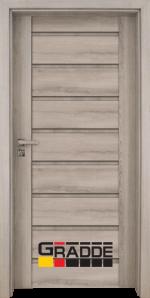 Интериорна врата Gradde Axel Voll, цвят Сибирска Лиственица