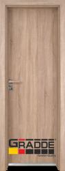 Алуминиева врата серия Граде цвят дъб Вераде