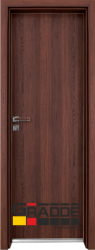 Алуминиева врата серия Граде цвят Шведски дъб