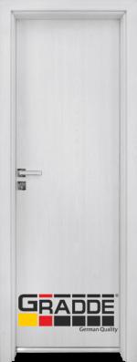 Алуминиева врата серия Граде цвят Сибирска лиственица