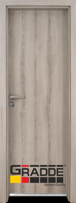 Алуминиева врата серия Граде цвят Ясен вералинга