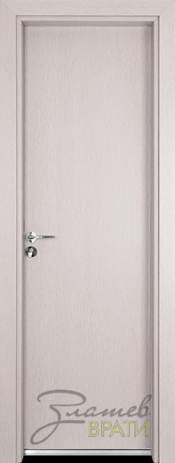 Алуминиева врата серия Гама цвят Перла