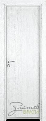 Алуминиева врата серия Гама цвят Бреза